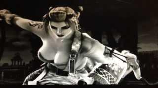 getlinkyoutube.com-Soul Calibur 4 setsuka critical finish all woman (ryona)(音量UP推奨)