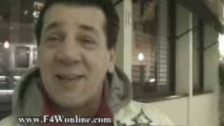 getlinkyoutube.com-Chuck Zito Almost Kicks My Ass For Asking A Dumb Question,  Talks Affliction, Howard Stern & MMA