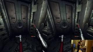 Doom 3 BFG in VR (HTC Vive)