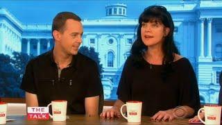 getlinkyoutube.com-Pauley Perrette and Sean Murray on The Talk (Sep 24th, 2015)