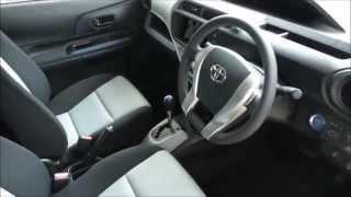 getlinkyoutube.com-Toyota Aqua Hybrid - Pearl White