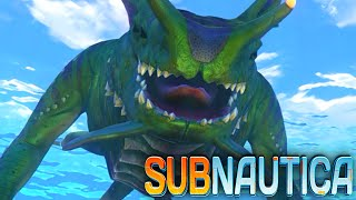 getlinkyoutube.com-Subnautica - SEA DRAGON, LEVIATHAN, NEW CREATURES (Subnautica Early Access Gameplay)