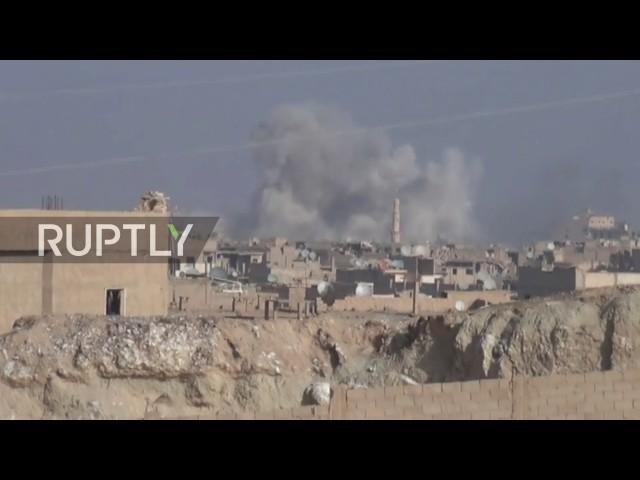Syrische Armee im Kampfeinsatz in Deir ez-Zor