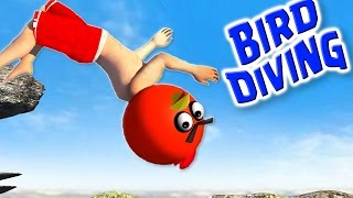 getlinkyoutube.com-FLIP DIVING with ANGRY BIRDS  ♫  3D animated game mashup  ☺ FunVideoTV - Style ;-))