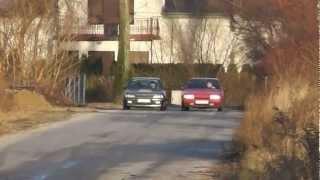 getlinkyoutube.com-Peugeot 405x4 Mi16  vs  Citroen BX 2.0 Turbo 4wd