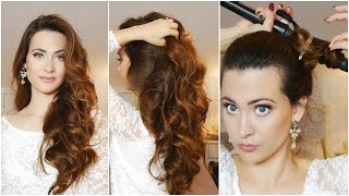 getlinkyoutube.com-Como Rizar el Cabello en 5 minutos! ♥ How to Curl Your Hair in 5 Minutes!