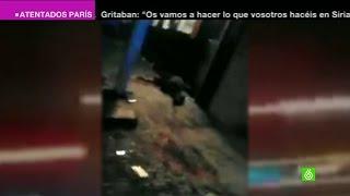 getlinkyoutube.com-Nuevas imágenes de la noche de los atentados yihadistas en París