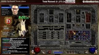 getlinkyoutube.com-Diablo 2 - 8 Man HELL 100% Speedrun!!!!