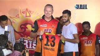 Sun-risers Hyderabad is ready to Clinic the second title new signings