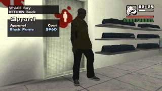 getlinkyoutube.com-GTA San Andreas all Victim clothes