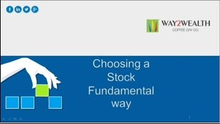 How to Choose Stocks using Fundamental Analysis