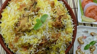 getlinkyoutube.com-Chicken Biryani Restaurant Style - By VahChef @ VahRehVah.com