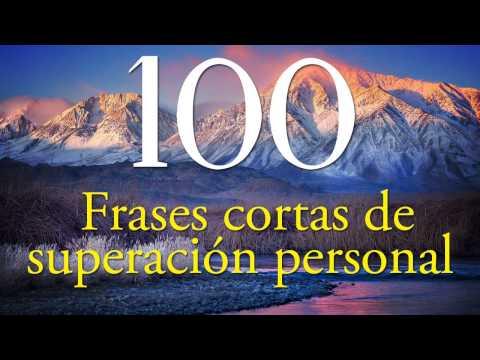 100 Frases cortas de superación personal