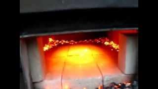 getlinkyoutube.com-Пиролизный котел длительного горения в теплице