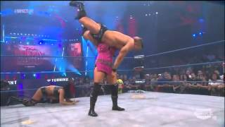 getlinkyoutube.com-TNA Impact Wrestling 11/08/12 - Tara & Jesse vs ODB - Handicap Match