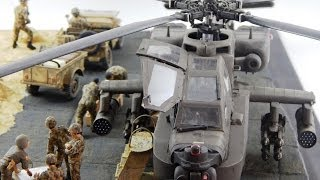 getlinkyoutube.com-1/35 Diorama Apache AH64-D Longbow Egypt