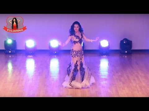 Magic Belly Dance - Yulianna Voronina Belly Dancer, Gala Show in Korea