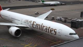 getlinkyoutube.com-Emirates 777-300ER Turnaround to Departure at Frankfurt Airport