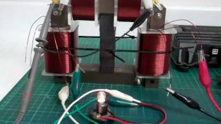 getlinkyoutube.com-Self Assisted Oscillation in a Shorted Coil - Bucking Magnetic Field Oscillation