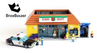 getlinkyoutube.com-Lego Simpsons 71016 The Kwik-E-Mart - Lego Speed Build