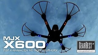 getlinkyoutube.com-MJX X600 hexacopter - PART 4 FPV HD pushing distance limit.