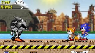 getlinkyoutube.com-Boss Battle: Sonic vs. Silver Sonic