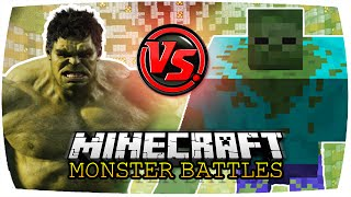 getlinkyoutube.com-HULK VS. MUTANT ZOMBIE | Minecraft: Monster Battles | [Deutsch // HD]