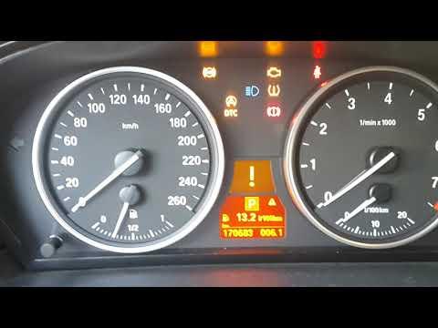 Холодный запуск BMW 5 ... N52 2.5. Температура -31.