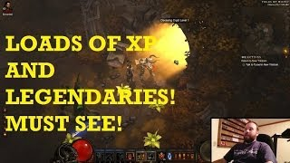 getlinkyoutube.com-You want XP and legendaries? You have to try this! Diablo 3 farming at its best!