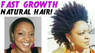 getlinkyoutube.com-HOW I GREW MY SHORT NATURAL HAIR FAST! | LENGTH RETENTION + HAIR GROWTH TIPS | THE CURLY CLOSET