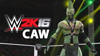 getlinkyoutube.com-WWE 2K16 - CAW - Reptile