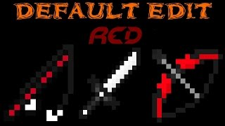 getlinkyoutube.com-♦MINECRAFT TEXTURE PACK PVP DEFAULT EDIT ¡EPIC RED!♦