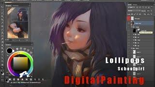 getlinkyoutube.com-Lollipops [Digital Painting]