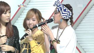 getlinkyoutube.com-Jessica(SNSD), Dara(2NE1), HyunA(4MINUTE), Jokwon(2AM) Cut (Oct 3, 2009)