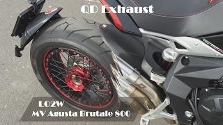 Top 6 Full Exhaust Sound MV Agusta Brutale 800 / SC-Project, GPR, QD Exhaust