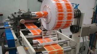 getlinkyoutube.com-Label Diecut machine
