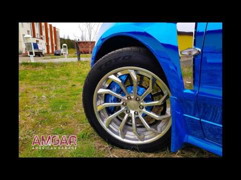 Тормозная система Тюнинг тормозов Cadillac SRX от hp-brakes.ru
