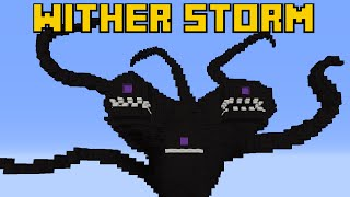 getlinkyoutube.com-[EL] WITHER IS COMING: Wither Storm in MineCraft (Pixel Art - Giant Build)