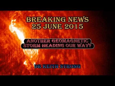 BREAKING NEWS! ANOTHER STORM HEADING OUR WAY – 25 JUNE 15