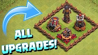 getlinkyoutube.com-ALL UPGRADED TROOPS & WEAPONS!!! (Clash of clans October 2016 Update)