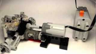 getlinkyoutube.com-Lego Technic Porsche Suspension Is Back