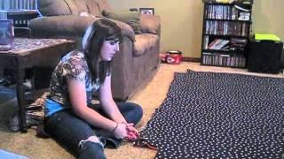 getlinkyoutube.com-edtc3123- How to Make a Tie Blanket