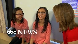getlinkyoutube.com-Identical Twin Sisters Separated at Birth Reunite