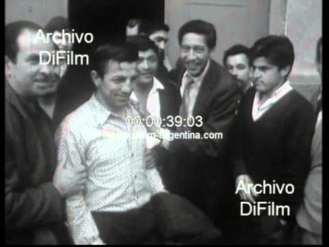DiFilm - Accavallo and Ebihara training in Buenos Aires - Boxeo 1966