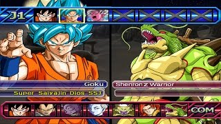 getlinkyoutube.com-Dragon Ball Z Budokai Tenkaichi 3 - Goku SSGSS VS Shenron Z Warrior Red Potara *Epic Battle (1080p)