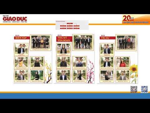 Tạp chí Giáo dục | Hành trình 20 năm phát triển và hội nhập.