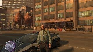 getlinkyoutube.com-GTA IV:LCPD Mod - حرامي السيارات : مود الشرطة 10# - الشرطي الفاسد