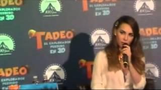 getlinkyoutube.com-Polémico comportamiento de Belinda en conferencia