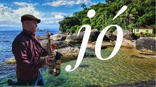 Jó - Midian Lima - Full HD 1080p - saxophone gospel instrumental cover Diego marinho width=