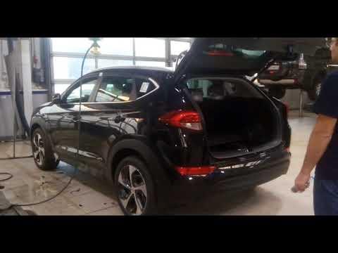 Hyundai Tucson 2016-н.в Открытие багажника ногой, SmartFoot